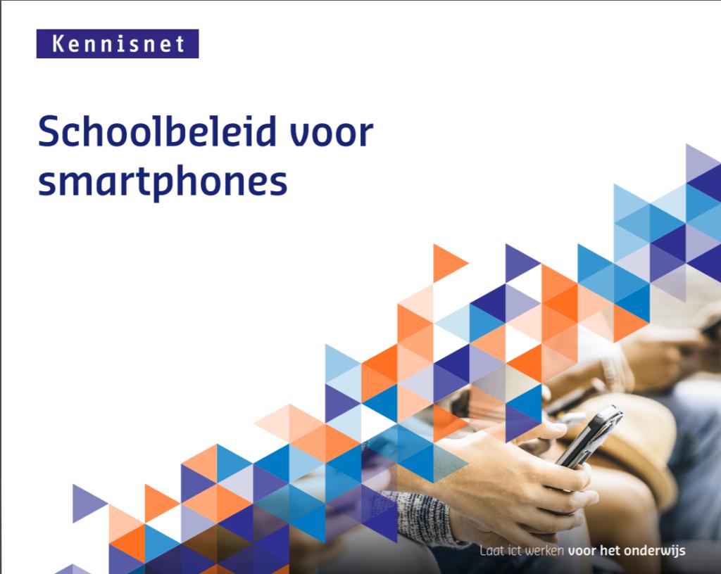 Illustratie van de publicatie Schoolbeleid voor smartphones