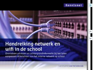 Kennisnet handreiking netwerk en wifi in de school