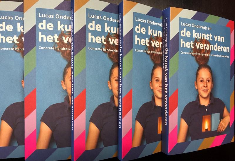 Omslag boek de Kunst van het Veranderen