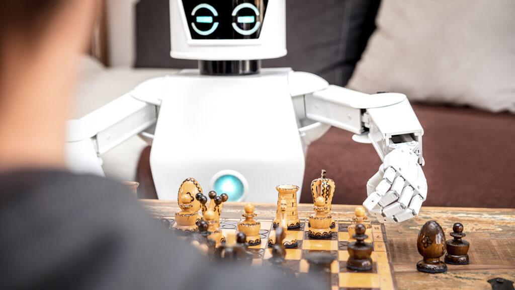 robot speel schaak