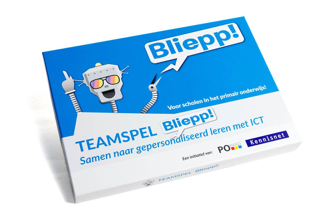 Teamspel Bliepp!: kennismaken met gepersonaliseerd leren met ict