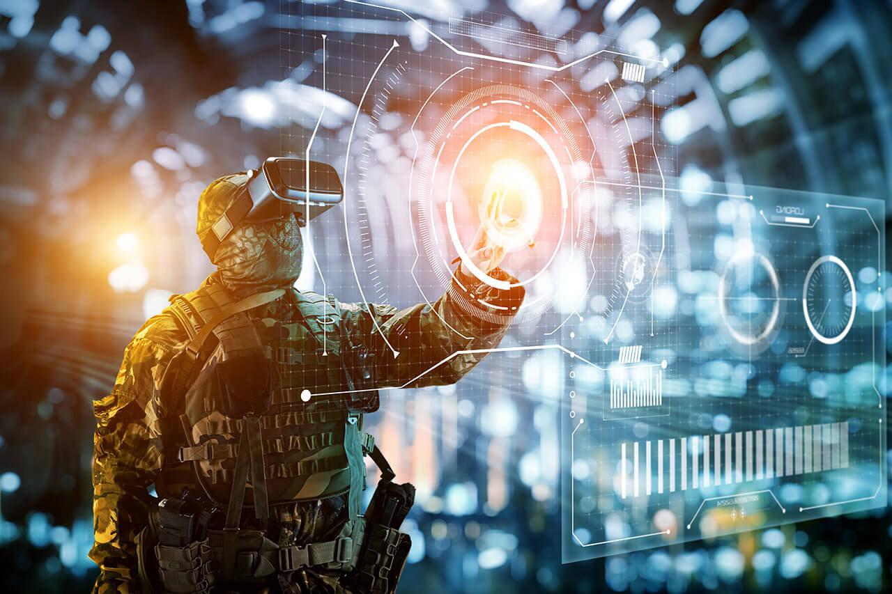 Trainen en opleiden via virtual reality bij Defensie