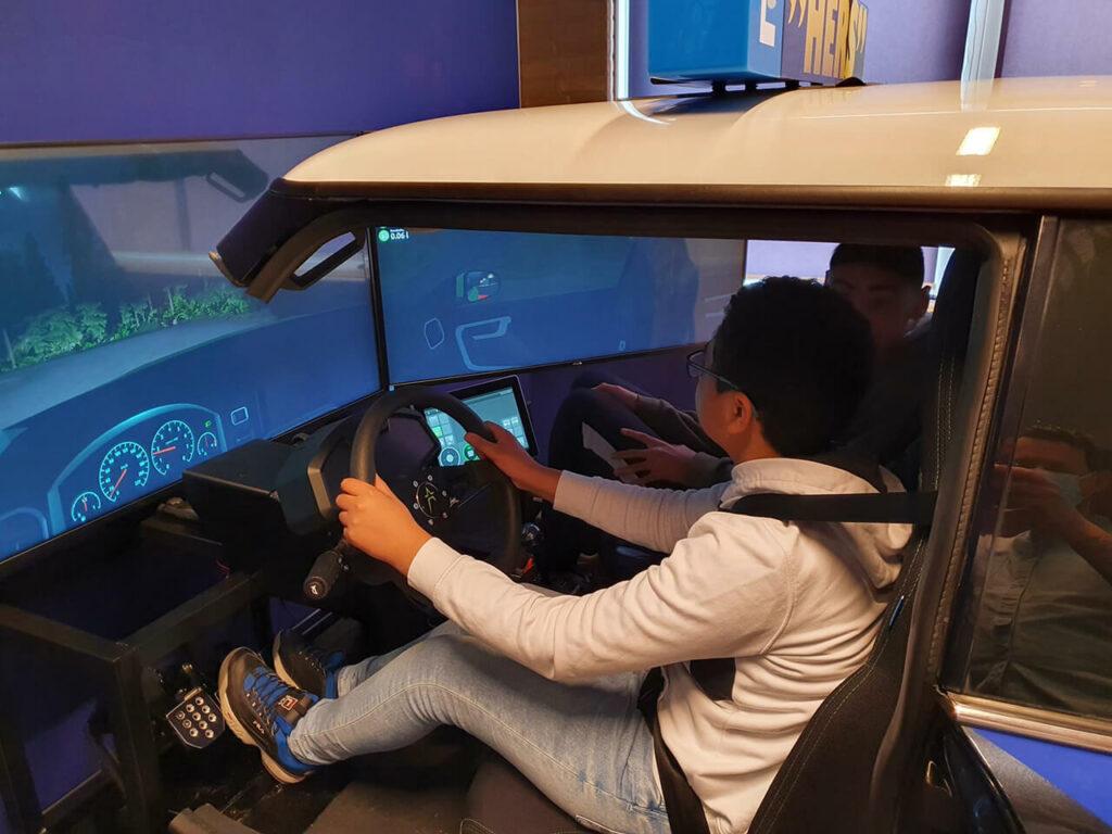simulator autorijden Schreuder College Rotterdam