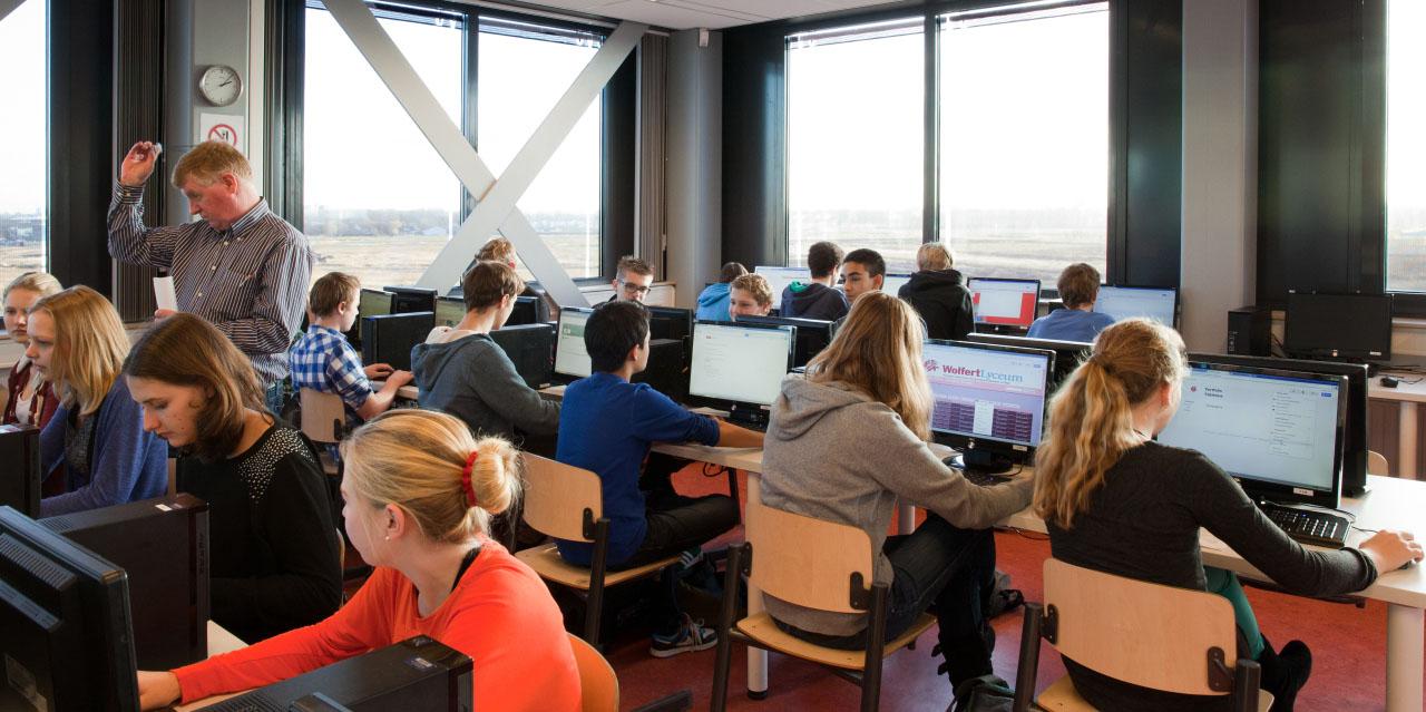 DDoS-aanval op school