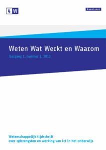 4W 2012, nummer 1