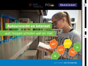 Auteursrecht en internet, wat mogen scholen wel en niet?