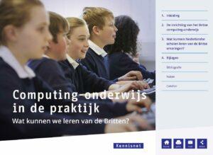 Computing onderwijs in de praktijk - wat kunnen wij leren van de Britten?