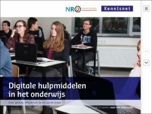 Digitale hulpmiddelen in het onderwijs