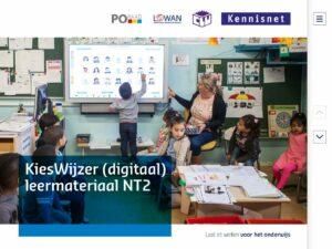 KiesWijzer (digitaal) leermateriaal NT2