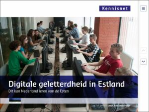 Digitale geletterdheid in Estland
