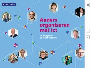 Essaybundel over Anders organiseren met ict