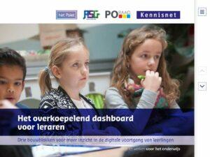 Kennisnet Het overkoepelend dashboard voor leraren