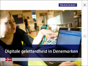 Digitale geletterdheid in Denemarken