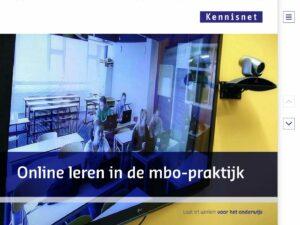 Online leren in de mbo-praktijk