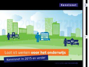 Publieksversie Kennisnet jaarverslag 2015