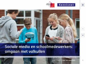 Sociale media en schoolmedewerkers: omgaan met valkuilen