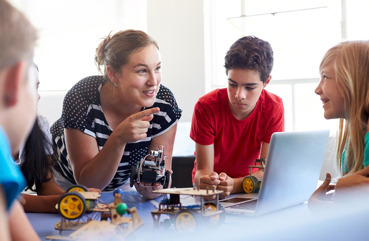 In 4 stappen naar een lerende cultuur op school – ook voor ict-vaardigheid